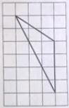 На клетчатой бумаге с размером клетки 1×1 изображён треугольник. Найдите его площадь.