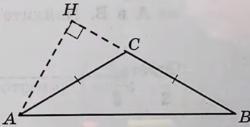 В тупоугольном треугольнике ABC известно, что AC = BC = 10, высота AH равна √51.